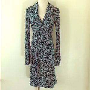 DVF Diane Von Furstenberg Wrap Dress Vintage